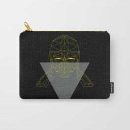 polygon head Carry-All Pouch