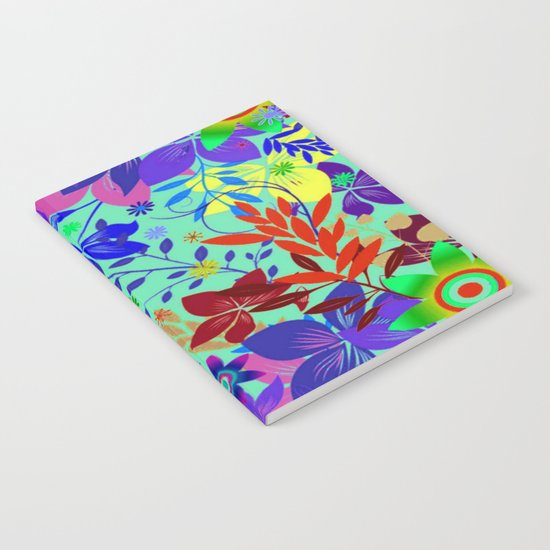 Flowers Explosion Notebook