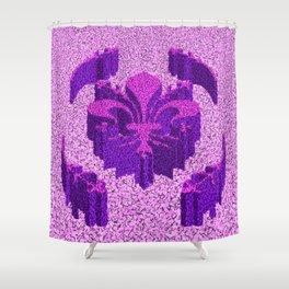 Florentine Purple Garden Shower Curtain