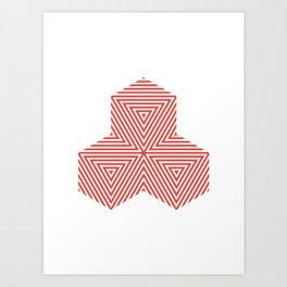 Patterned 5A Art Print