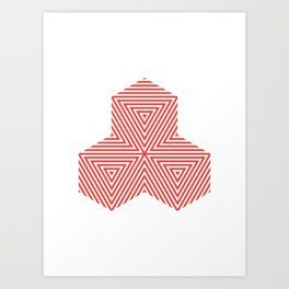 Patterned 5A Art Print
