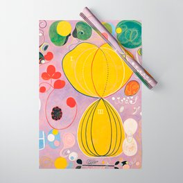 "Hilma af Klint ""The Ten Largest, No. 07, Adulthood, Group IV"" Wrapping Paper"