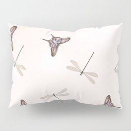 Butterflies and damselflies Pillow Sham