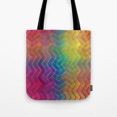 Zigzag & Zigzag 6 Tote Bag