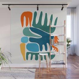Spring Colors Joyful Art Pattern Abstract Wall Mural