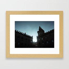 DARK BOLOGNA Framed Art Print