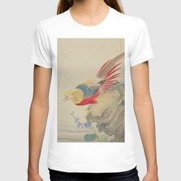 Japanese PHEASANT T-shirt