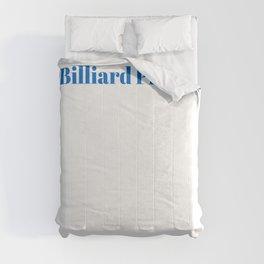 Top Billiard Player Comforters