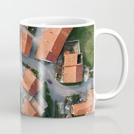 Village from above Coffee Mug