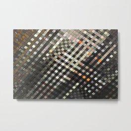 Checkered Reflections II Metal Print