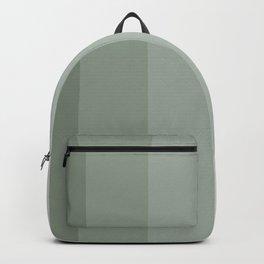 Sage green Verticals Backpack
