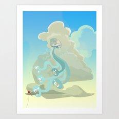 The Wind Has Teeth Art Print