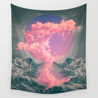 soul Wall Tapestries featuring Ruptured Soul  by soaring anchor designs