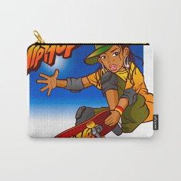 Hip Hop girl skateboard Cartoon Carry-All Pouch