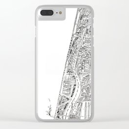 The tower of Disaster Clear iPhone Case