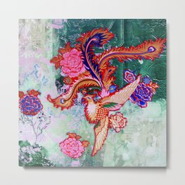 Jade Pheonix 2 Metal Print