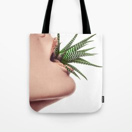 Flower Mouth - Aloe Tote Bag