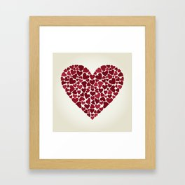 Love9 Framed Art Print