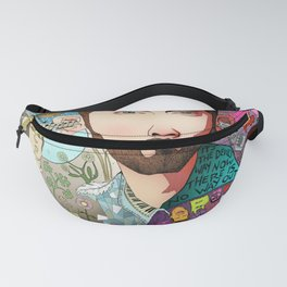 God Loves His Children, But It's The Devil's Way Now Fanny Pack