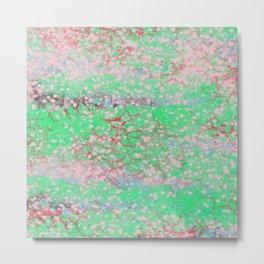 Texture Art - Nebula Spray Paint Metal Print