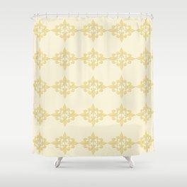 Fleur de lis 4 Shower Curtain