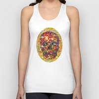 ashton irwin Tank Tops featuring Ticket to Ride (1R) by Wayne Edson Bryan