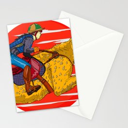 Sunset Race Stationery Cards
