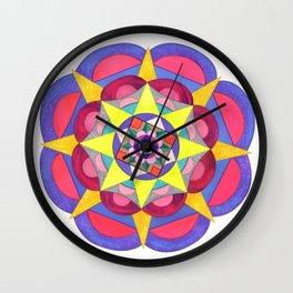 skyflower 7 Wall Clock