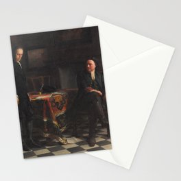 Nikolai Ge - Peter the Great Interrogating the Tsarevich Alexei Petrovich at Peterhof Stationery Cards