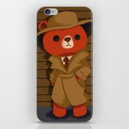 Teddy Noir iPhone Skin