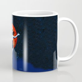 Space Woman Transcendent Coffee Mug