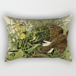 Meadow Lark (Sturnella magna) Rectangular Pillow