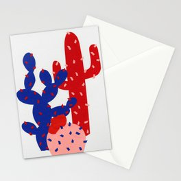 Three Succulents Stationery Cards