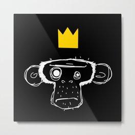 Monkey King Metal Print