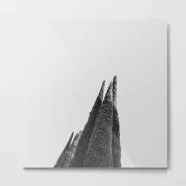 Optimismo funerario Metal Print