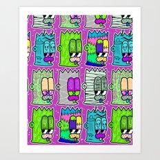 BARTFIELD Art Print