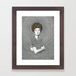 Odette Framed Art Print
