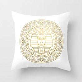 Tutankhamun Mandala – Egypt Throw Pillow