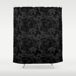 Beijaflorando Shower Curtain