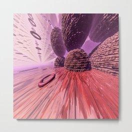 Planet Mars. Highway Metal Print