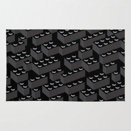 Building Blocks Pattern – Noir Rug