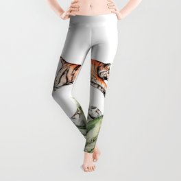 Tiger Leaping Gorge Leggings
