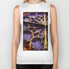 Church Flower Biker Tank