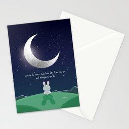 Carpe Noctem 'Seize The Night' - Pink Stationery Cards
