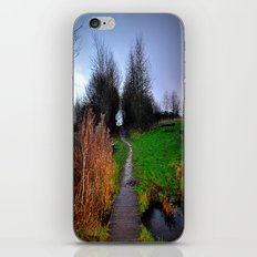 landscape in the woods iPhone & iPod Skin