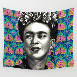 Queen Frida Wall Tapestry