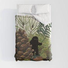 Tiny Sasquatch Duvet Cover