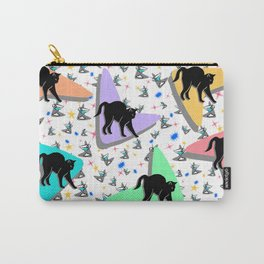 Retro Kitty Carry-All Pouch