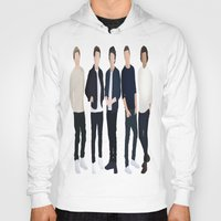 one direction Hoodies featuring One Direction by kikabarros