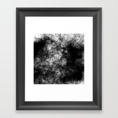 Artificial Constellation Dark Matter Framed Art Print